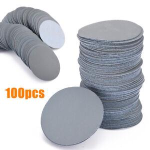 100Pcs-75mm-Papier-de-Verre-Poncage-Polissage-Disque-Feuille-Abrasif-3000-Grit