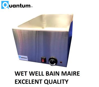 Wet well bain marie hot food sauce warmer water heat BRAND NEW