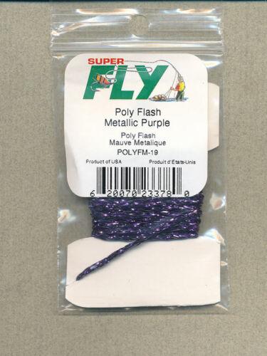 purple 3 yds     POLYFM-19 Poly Flash metallic