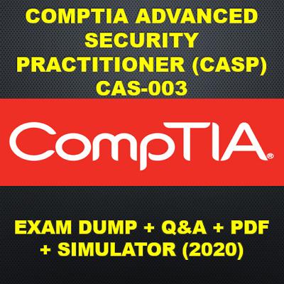 CompTIA Advanced Security Practitioner CAS-001 Exam Q/&A PDF+SIM