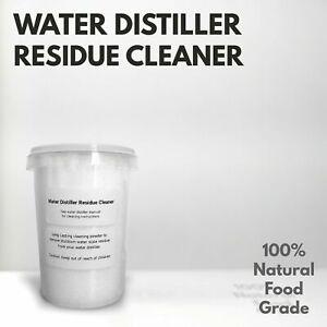 Water Distiller Residue Cleaner Purifier for ALL Water Distillers - 400g Net UK