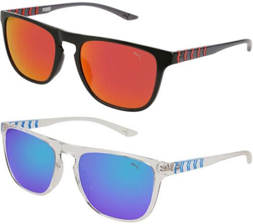 Puma Ignite Eye Evo 1 Men/'s Squared Sport Sunglasses w// Mirror Lens PU0131S