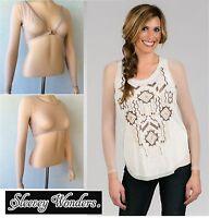 Sleevey Wonders 40103 Long-sleeve Shapewear Sleeves Top Stretch Mesh Taupe