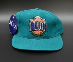 1998-NCAA-Final-Four-San-Antonio-Vintage-Logo-7-Strapback-Cap-Hat-NWT