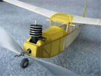 Baby Flea Ff14 Easy Built Models Balsa Wood Model Airplane Kit Rubber Powered