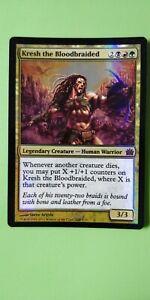 FOIL Kresh the Bloodbraided ~ From the Vault Legends ~ NearMint ~ Magic MTG