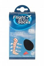 UNISEX FLIGHT TRAVEL DVT HEALTH COMPRESSION SOCKS 9-11 uk, 43-45 eur