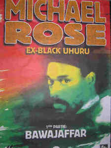 MICHAEL-ROSE-Black-Uhuru-Affiche-Original-Concert-Poster-70-x-100