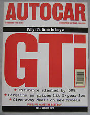 AUTOCAR magazine 8/2/1995 featuring Dodge Ram V10, Rover 620ti