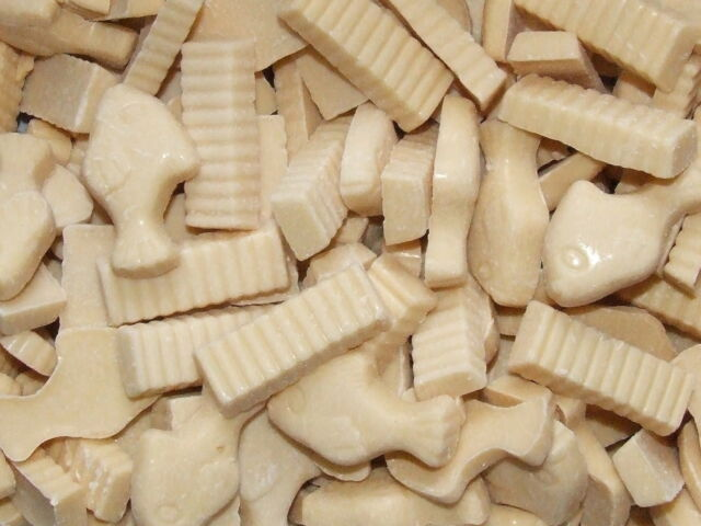 WHITE CHOCOLATE FISH AND CHIPS WHOLESALE RETRO SWEETS CANDY PICK YOUR WEIGHT