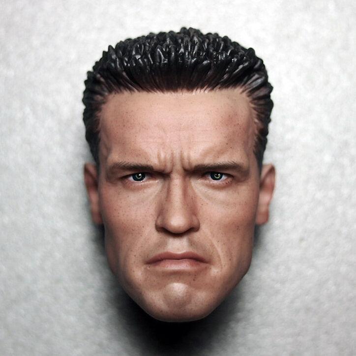 HOT FIGURE FIGURE FIGURE toy 1 6 headplay Arnold blackenegger headsculpt The terminator T800 0ad097