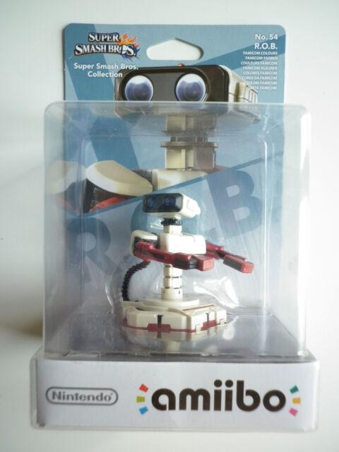 R.O.B. couleurs Famicom Super Smash Bros Interactive Amiibo Wii U