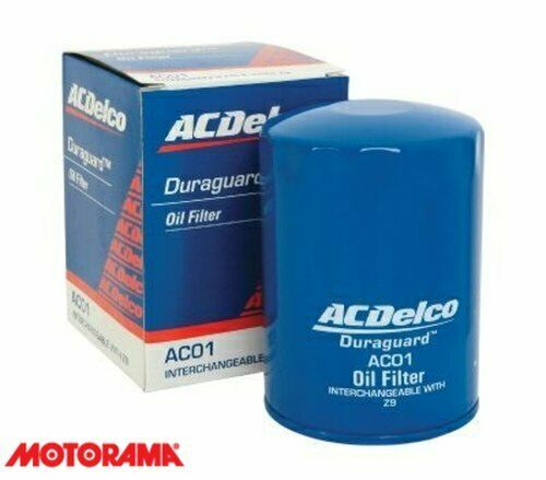 Genuine AC Delco Oil Filter AC01 Interchangeable With Z9 NEW GM#19266358
