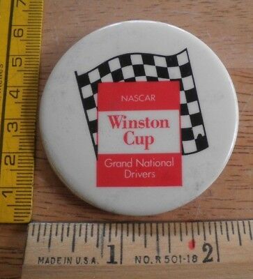 Fan Apparel & Souvenirs Industrious Nascar Winston Cup Early 1970's Pinback Button Grand National Drivers Dependable Performance