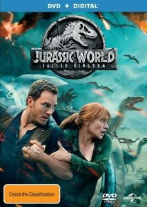 Jurassic World - Fallen Kingdom (DVD, 2018)