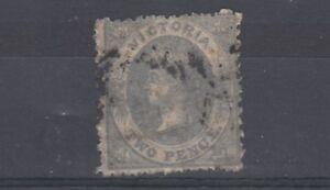 Australia-Victoria-QV-1860-2d-SG99-Fine-Used-J2238