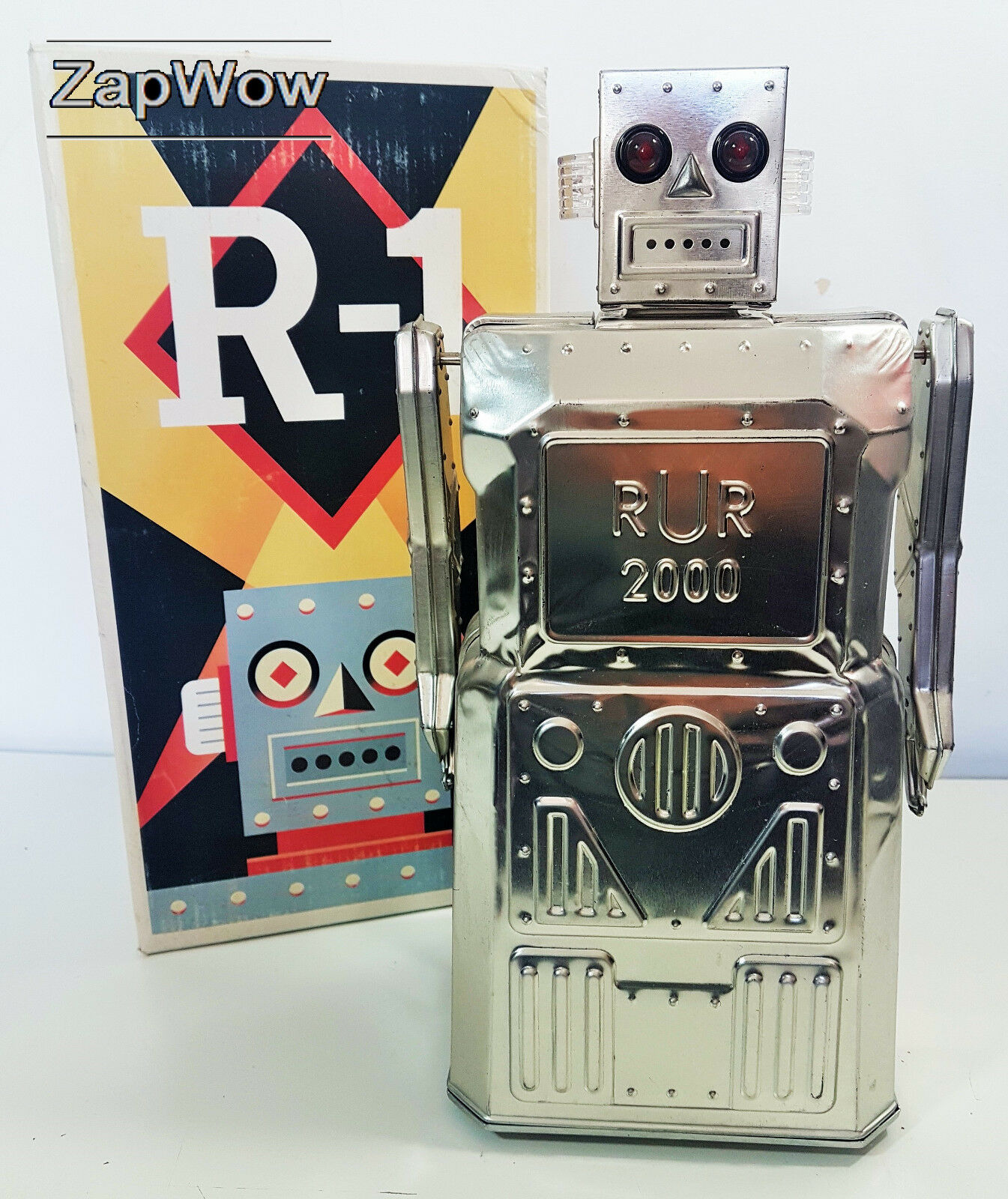 de moda R-1 Rur 2018 Juguete robot de metal desnudo Rocket Rocket Rocket Usa Ltd Ed electrónicas luces 2018s  marcas de diseñadores baratos