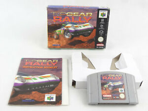 Top Gear Rally N64 Nintendo 64 En Caja