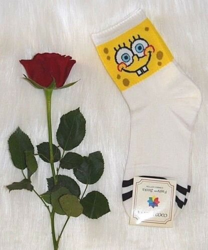 Ladies Womens Striped Socks Combed Cotton Cheese Smile Happy Crab Sad Mad Face