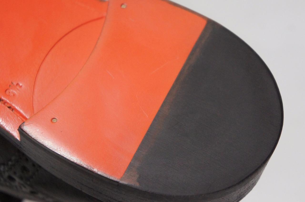 SANTONI WINGTIP WINGTIP WINGTIP OXFORD LACE-UP CASUAL Scarpe 8.5/9.5 D  975 3de3c4