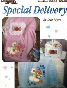 Special-Delivery-Leisure-Arts-2362-Baby-Patterns-for-Counted-Cross-Stitch