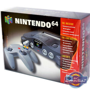 1-x-Box-Protector-for-N64-Nintendo-64-Console-STRONG-0-5mm-Plastic-Display-Case