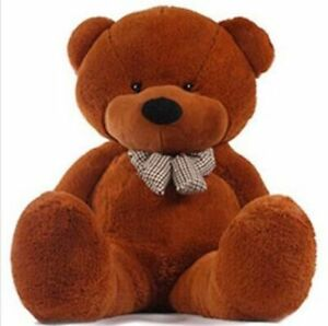 Hot-Giant-32-039-039-80cm-Big-Cute-Plush-Teddy-Bear-Huge-Dark-Brown-Soft-Toys-Doll-Gift