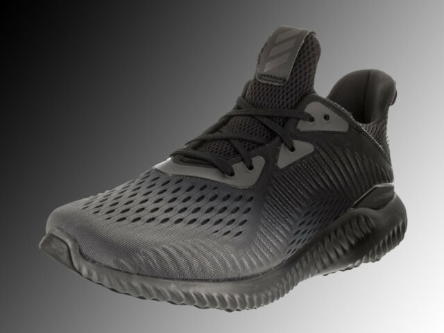 aa0f4aca4 adidas Alphabounce EM M By4263 Mens Running Shoes Gray Black Fade ...