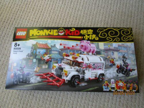 LEGO monkie KID - 80009-Pigsy 'S FOOD TRUCK-Nuovo di Zecca & Sigillato in Fabbrica