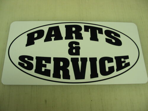 PARTS /& SERVICE Metal Sign Motorcycle Hot Rod Car Shop Garage Ford Chevy