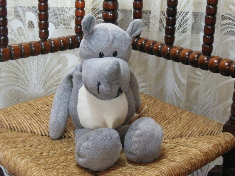 Plus Supermarket Holland Soft Plush Plush Soft Rhino Safari Knuffel 2010 496324