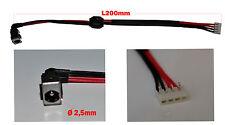 Netzteilbuchse Für Toshiba SATELLITE A500 L455 L555 L455D L55D DC JACK mit Kabel