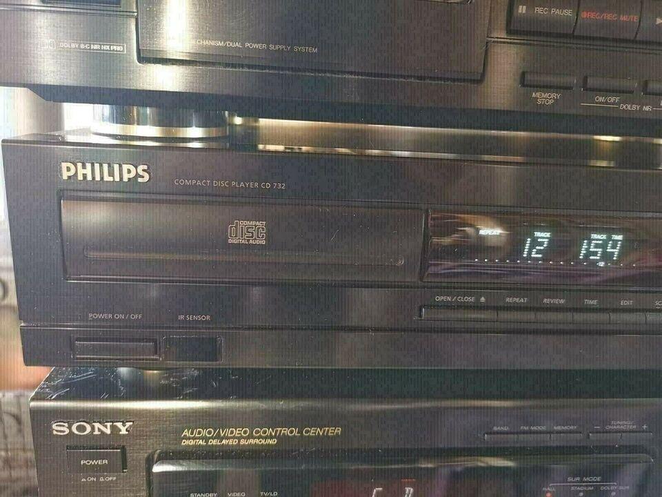 CD afspiller, Philips, cd 732