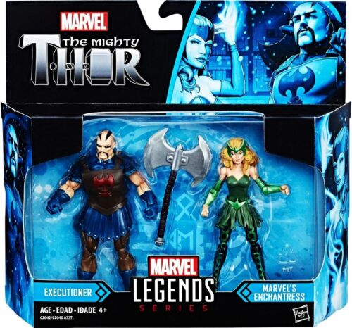 "Marvel Legends 3.75/"" The Mighty Thor Executioner and Enchantress Package Wear"