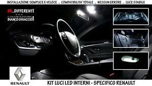 Fari Led Per Interni.Kit Luci Led Completo X Interni Full Pack Specifico Renault