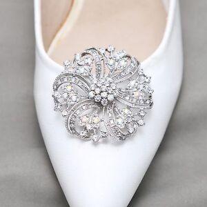 Image Is Loading A Pair Aurora Borealis Rhinestone Crystal Wedding Sandal