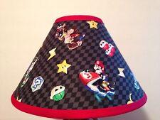 Super Mario  Custom Fabric Children's Lamp Shade