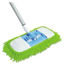 Quickie 060 Microfiber Dust Mop 48ampquot Steel Handle Green Each