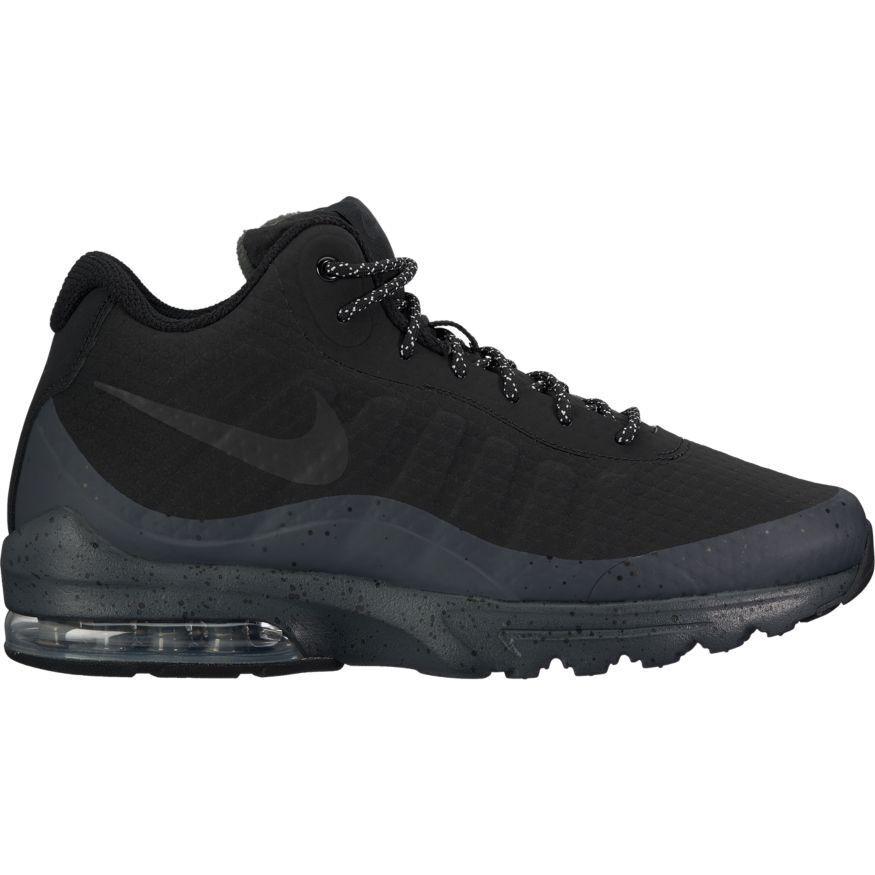 Men's Nike Air Max Invigor Mid Shoe 858654-004 BLACK/BLACK-ANTHRACITE