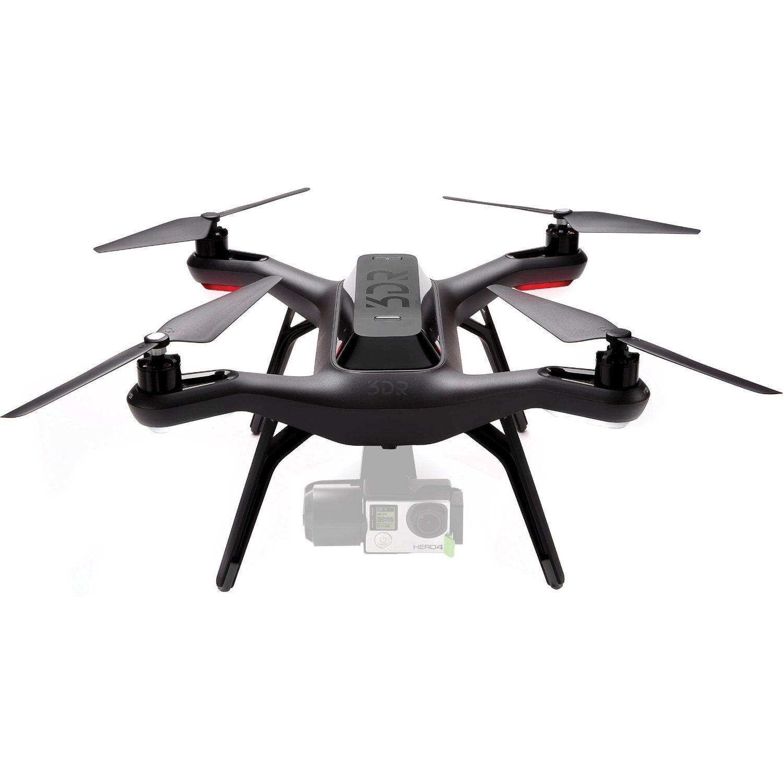 3dr solo quadrocopter drone Robotics sa15a solo Aerial drone Kit, negro