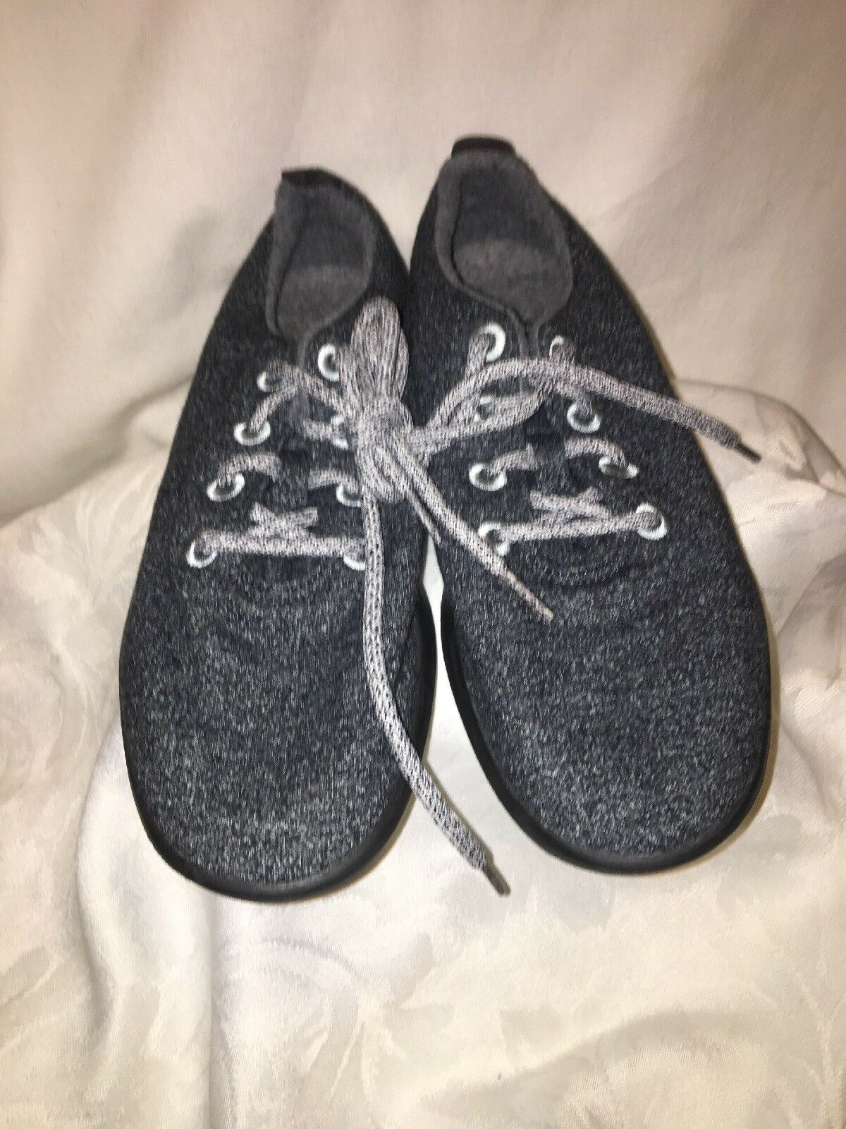 Allbirds Women's Wool Runners Size Size Size 10 color Dark Grey (with Black Soul) dad39d