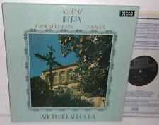 SXL 6586-7 Albeniz Iberia Navarra Cantos De Espana Alicia De Larrocha 2LP BoxSet