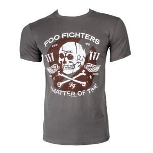 Sensible Foo Fighters T-shirt Matter Of Time Official Merchandise
