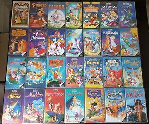 30 CLÁSICOS DISNEY VHS