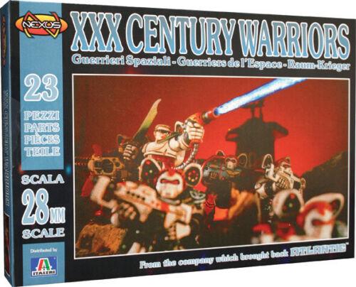 XXX Century Warriors 1:72 Figure Plastic Model Kit ITALERI