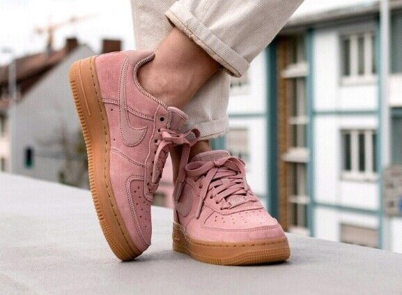 Womens Shoes Nike Womens Air Force 1 07 Se Particle Pink