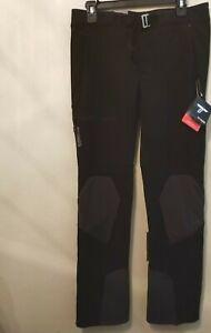 8//S Negro Columbia Silver Ridge 2.0 Pantalones de Senderismo Convertibles para Mujer
