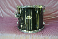 """ADD this PEARL FORUM SERIES 12"""" RACK TOM in BLACK to YOUR DRUM SET! LOT #J656"""