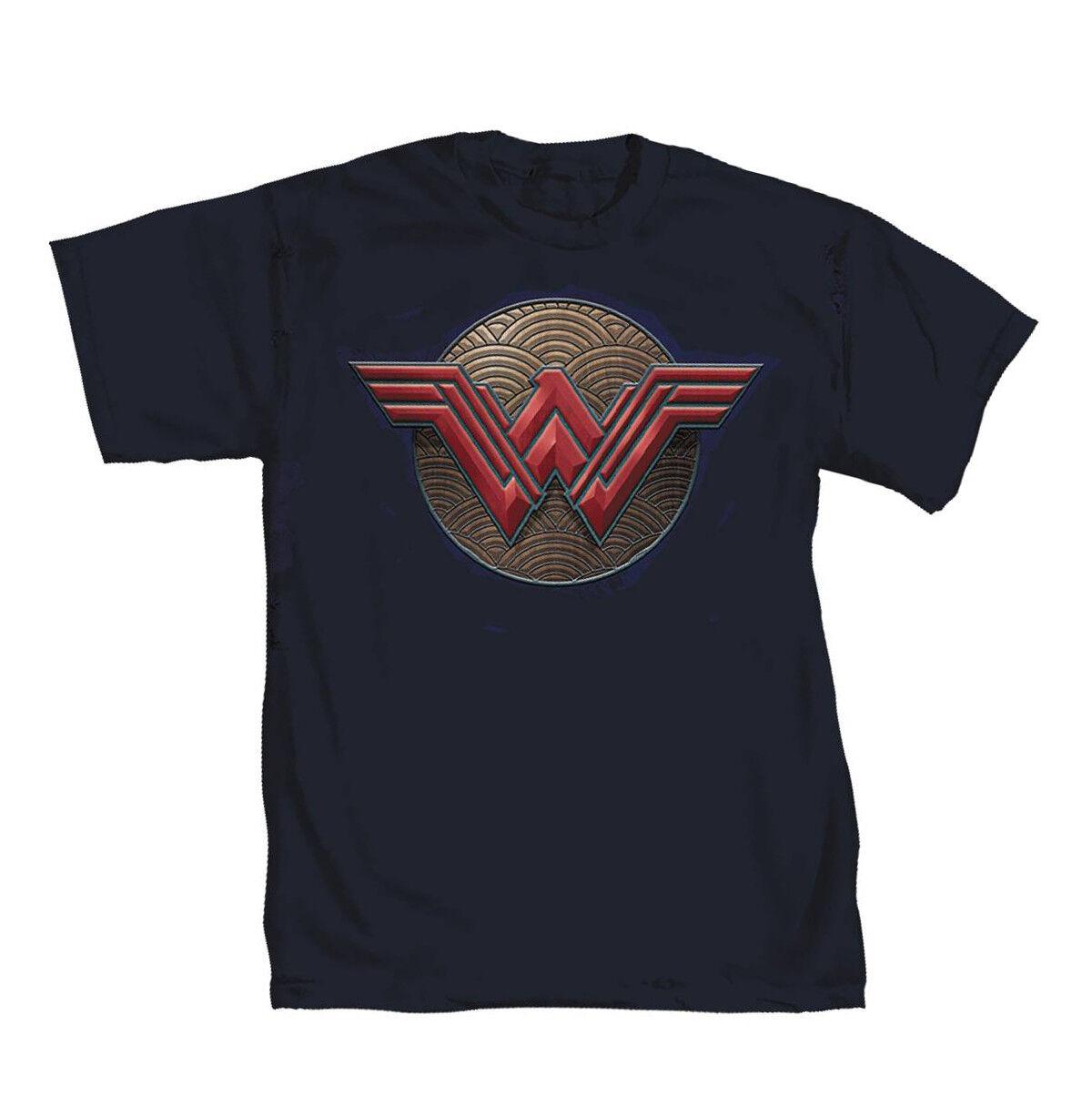 DC Comics Wonder Woman Shield 2 Graphic T-Shirt