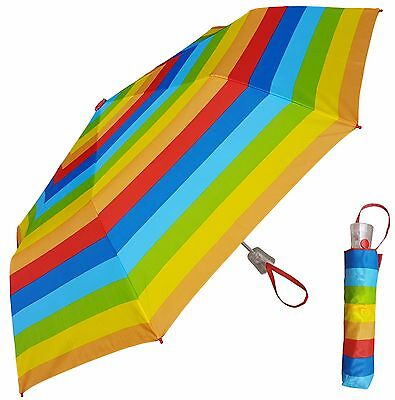 "44/"" Arc Color-Changing Butterfly Auto-Auto Mini Umbrella-RainStoppers Rain//Sun"